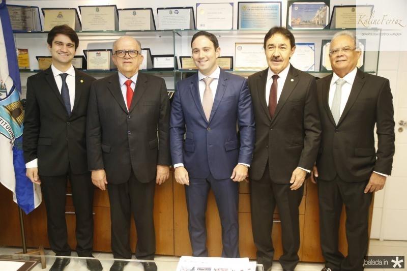 Pedro Gomes de Matos, Fernando Ximenes, Thiago Asfor, Raimundo Gomes de Matos e Jose Maria Lima