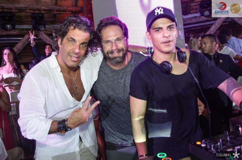 Alvaro Garneiro, Luis Antonio Valadares e Dj Vintage