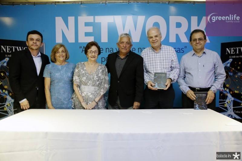 Elias Leite, Vera Sobreira, Zilmar Fontenele, Tadeu Sobreira, Wagner Veloso e Elvecio Feitosa