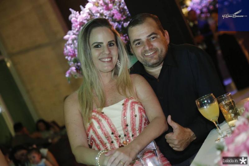 Joiane Sales e Daniel Aguiar