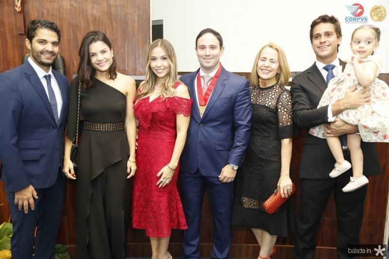 Bruno e Priscila Becco, Rafaela e Thiago Asfor, Teresa e Jorge Ximenes e Bianca Asfor