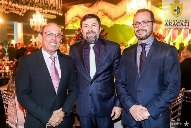 Andre Montenegro, Elcio Batista e Andre Costa