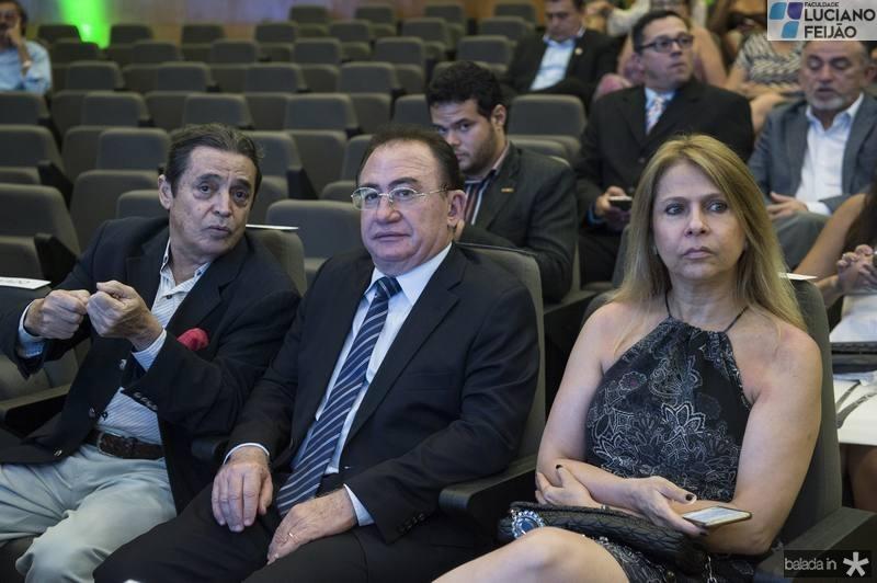 Luiz Carlos Castelo, Manuel e Morgana Linhares