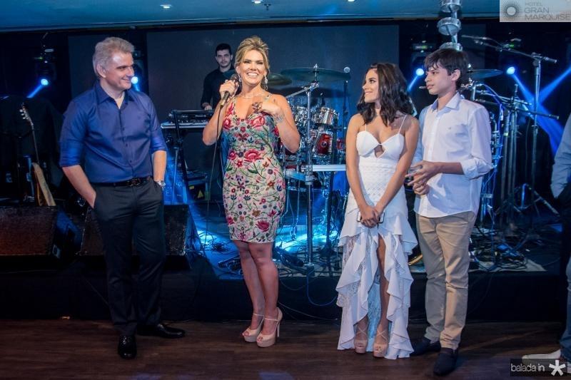 Afranio Plutarco, Pauliani Campos, Cristiane Cruz e Cristiano Filho
