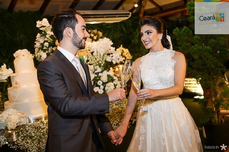 Felipe Barreira e Beatriz Pontes (
