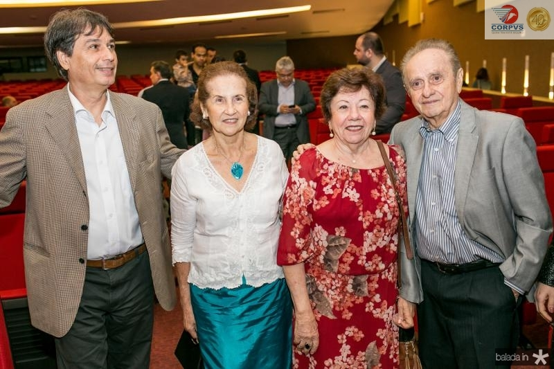 Francisco Vieira, Maria de Melo Borges, Socorro Matos e Cassio Borges