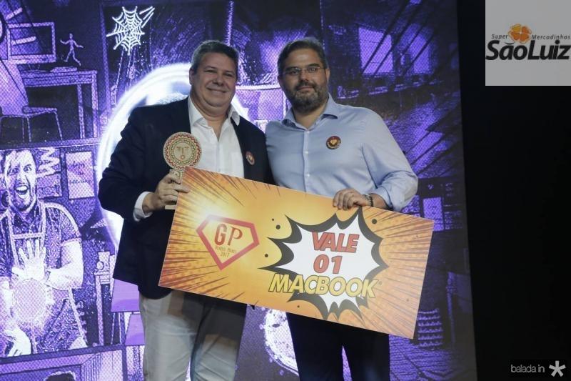 Bob Santos e Edson Queiroz Neto