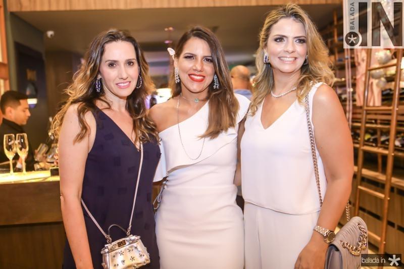 Roberta Nogueira, Ana Carolina Fontenele e Tais Pinto