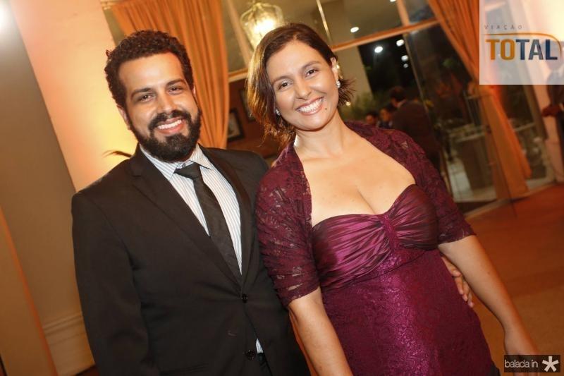 Vinicius Augusto Bozo e Priscilli Gomes