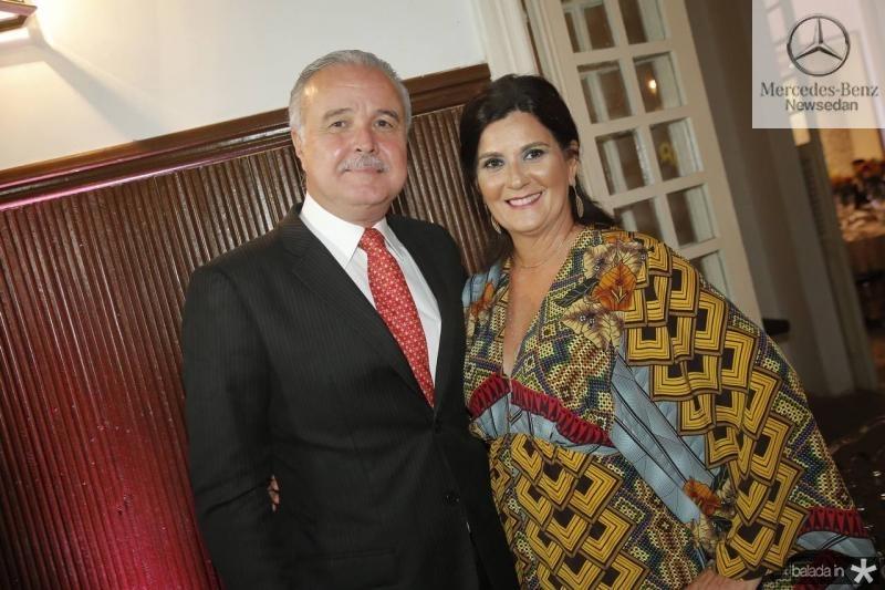 Guilherme e Marcia Aguiar