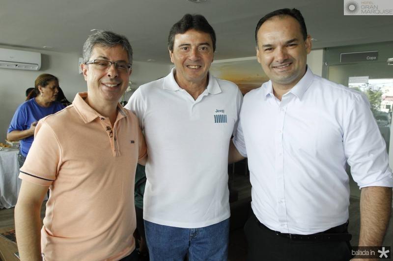 Andre Marinho, Luiz Teixeira e Glauco Feitosa