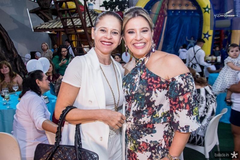 Claudiana Juacaba e Ana Claudia Aguiar