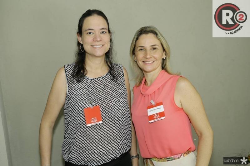 Andrea Campos e Fernanda Cabral