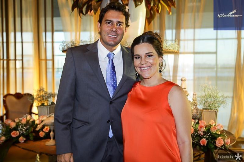Renato Soares e Ana Paula Domene