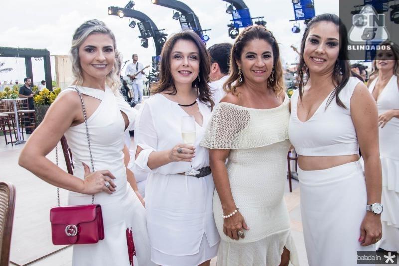 Edneide Pinheiro, Susana Pires, Fabiana Barreira e Luciane Kimura