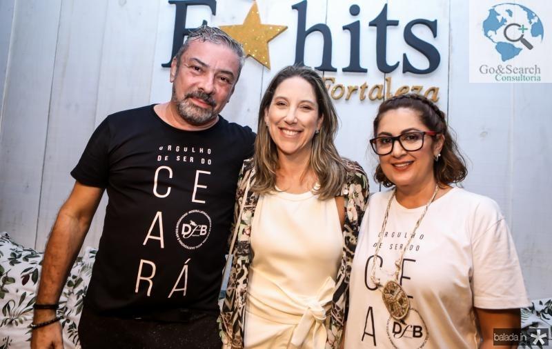 Claudio Silveira, Carol Quintero e Helena Silveira
