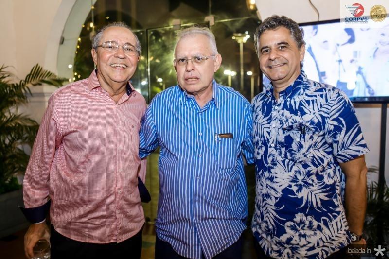 Pedro Gomes de Matos, Cesra Barreto e Marcelo Cavalcante