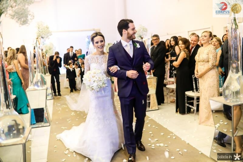Larissa Peixoto e Luiz Camelo