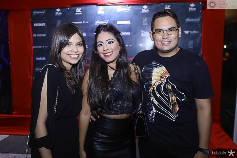 Ranna Livia, Erica Lima e Lucas Reboucas