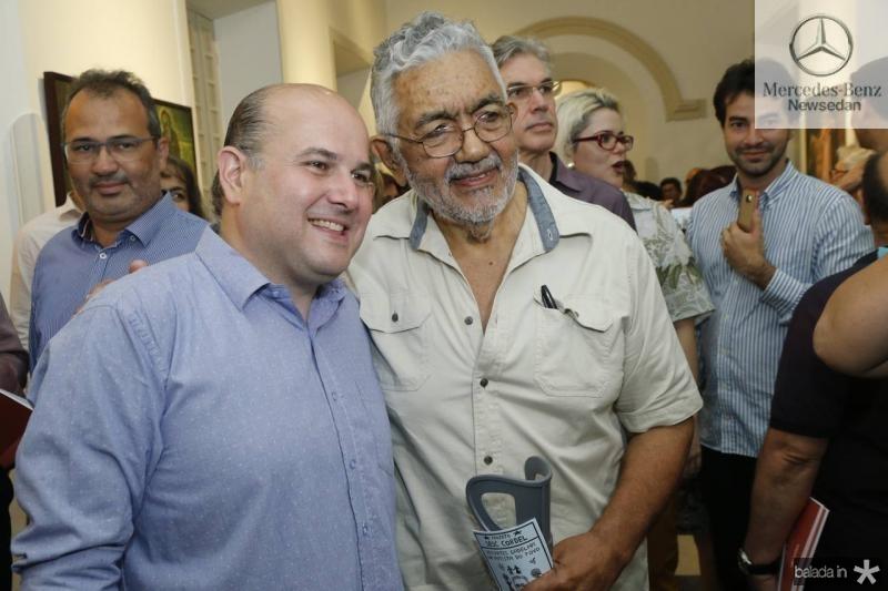Roberto Claudio e Descartes Gadelha