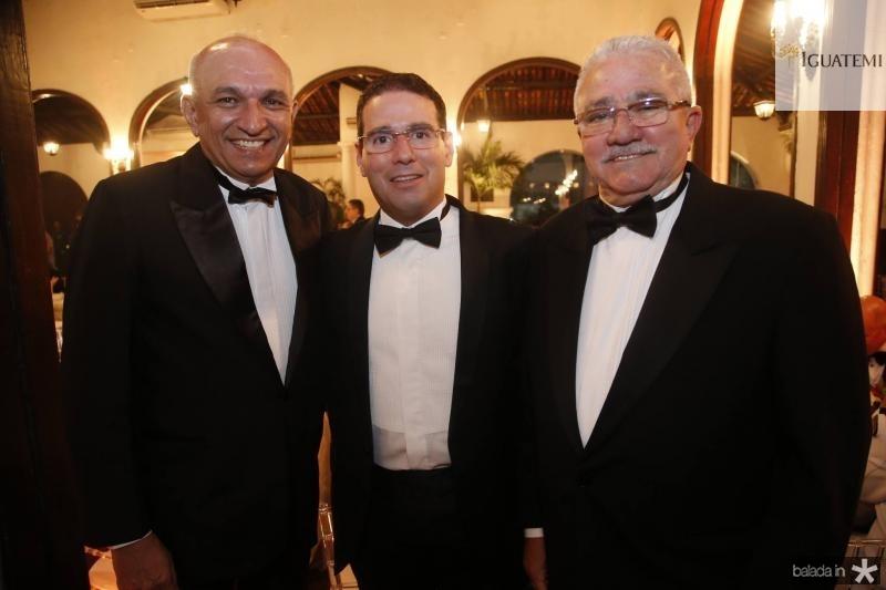 Licinio Correa, Roberto Araujo e Alcimor Rocha