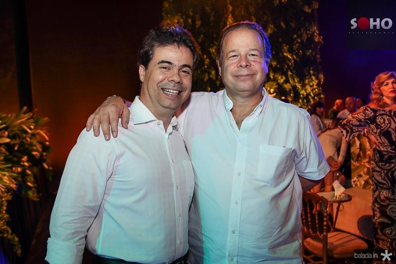 Duda Brigido e Francisco Ventura