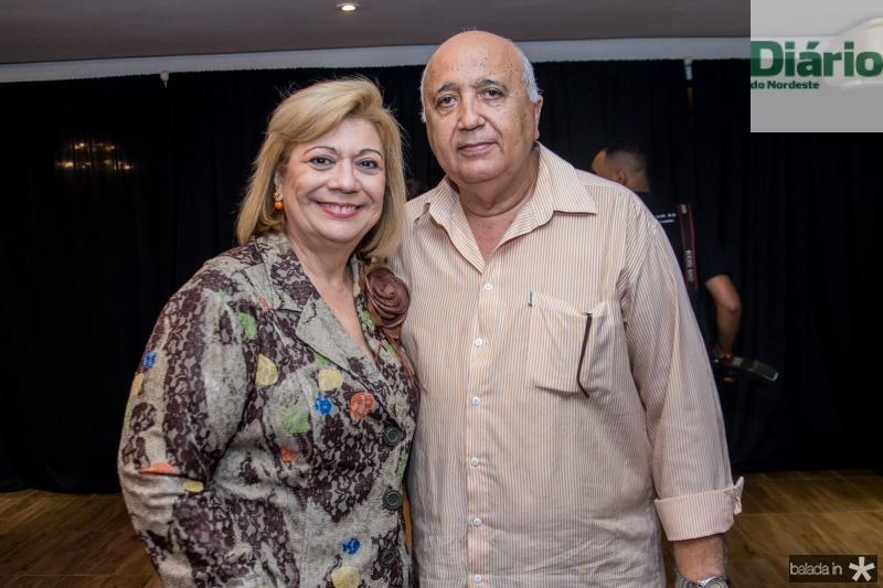 Priscila Cavalcante e Epitacio Vasconcelos