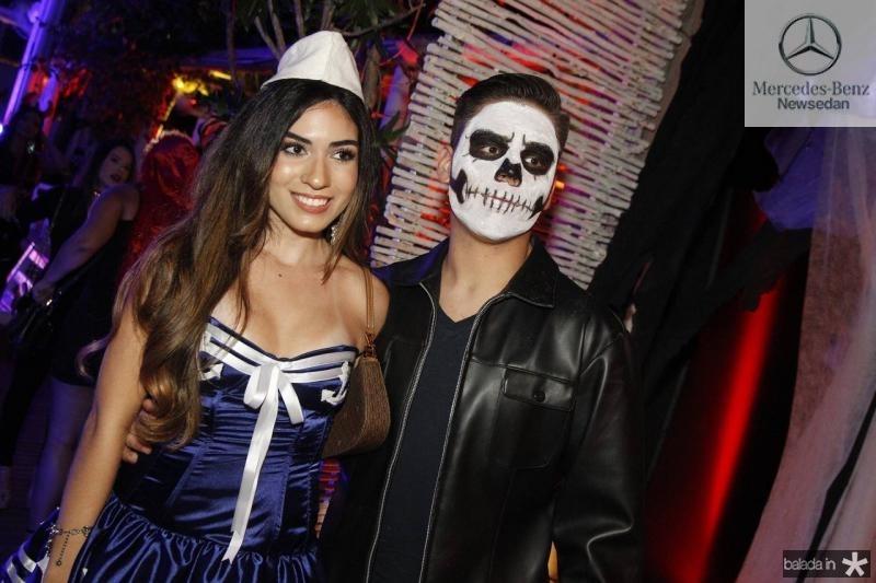 Nathalia Alencar e Victor Vieira