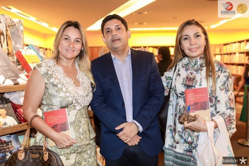 Jo Medeiros, Bruno Queiroz e Tereza Rocha