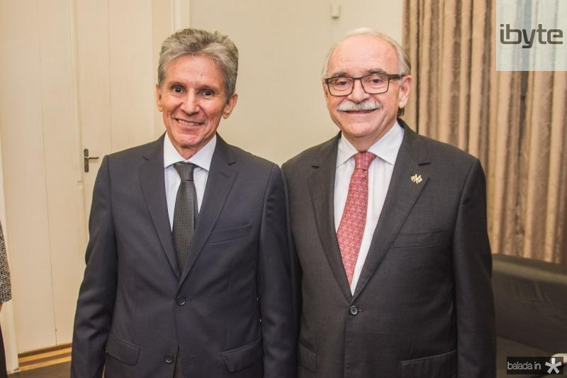 Padua Lopes e Ednilton Soarez