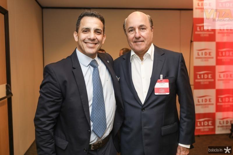 Raul Amaral e Silvio Frota