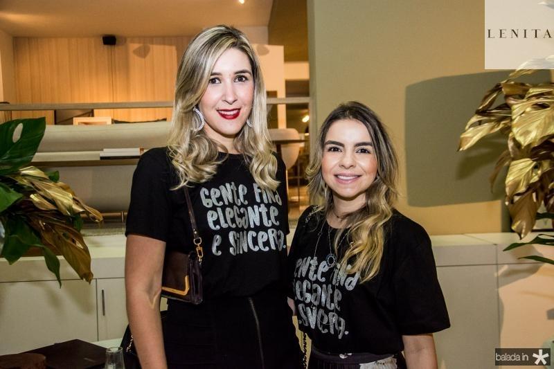 Mirna Studart e Diandra Alves