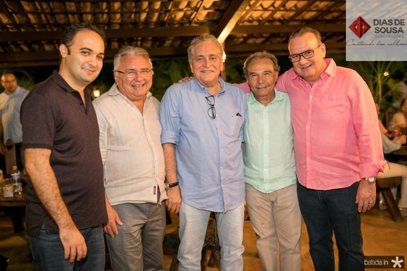 Felipe Gurgel, Idemar Cito, Luis Pontes, Claudio Aguiar e Chiquinho Feitosa