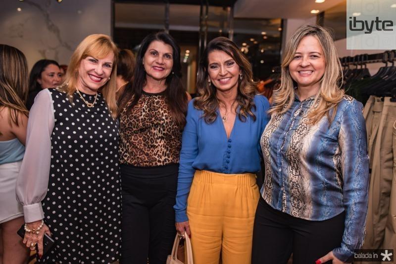 Ana Cristina Montenegro, Candida Albuquerque, Marcia Travessoni e Michele Sampaio