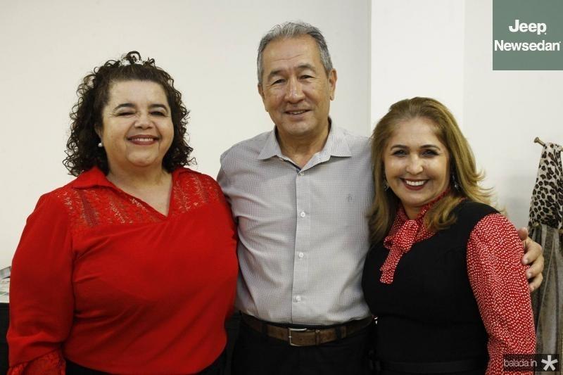 Clivania Teixeira, Wandocyr Romero e Jose Viana