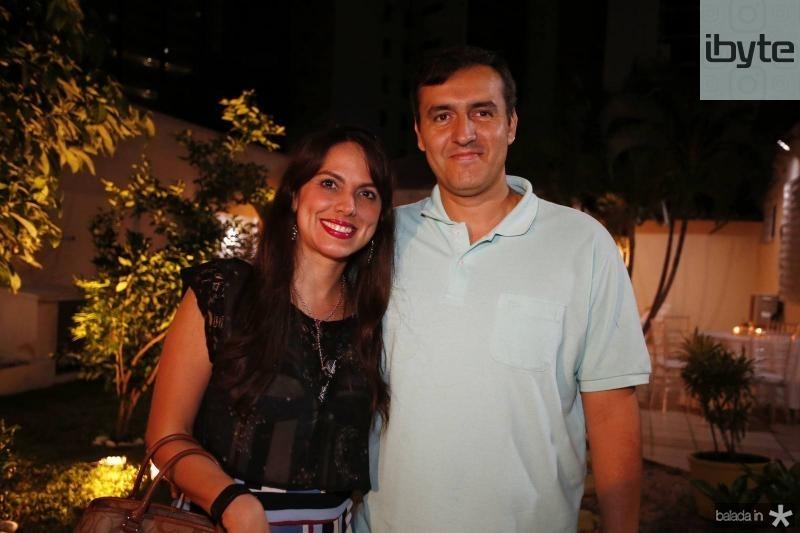 Patricia e Rodrigo Santos