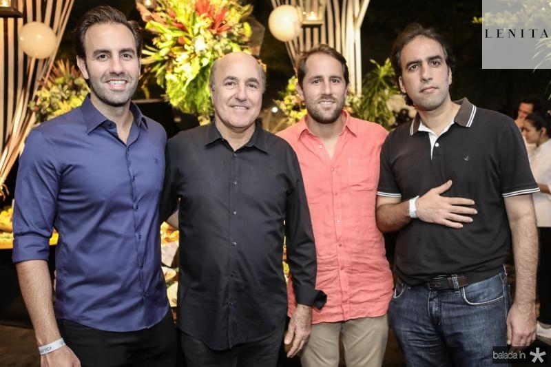 Vitor, Silvio, Rodrigo e Thomaz Frota
