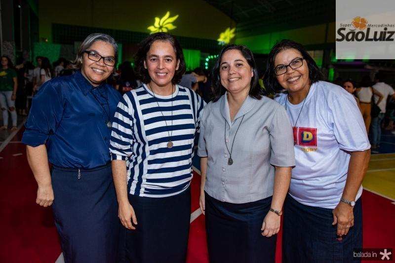 Irma Dulce De Nazare, Irma Patricia Vasconcelos, Irma Andreza Correia e Irma Marinilda Santos