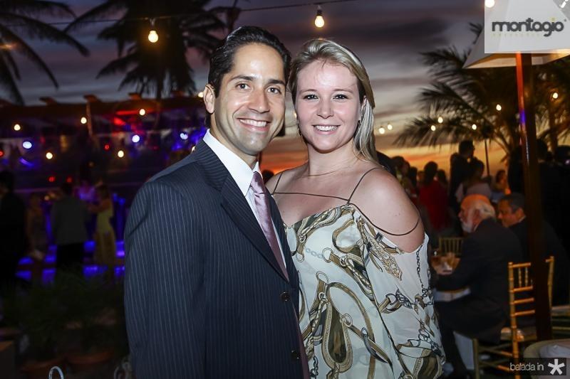Rodrigo Rodrigues e Priscila Basto