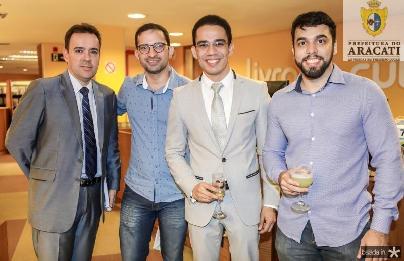Viana Neto, Andre Neo, Paulo Ponte e Celso Henrique