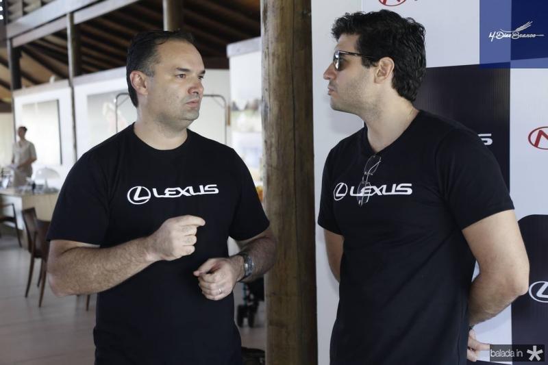 Glauco Feitosa e Antonio Alberto