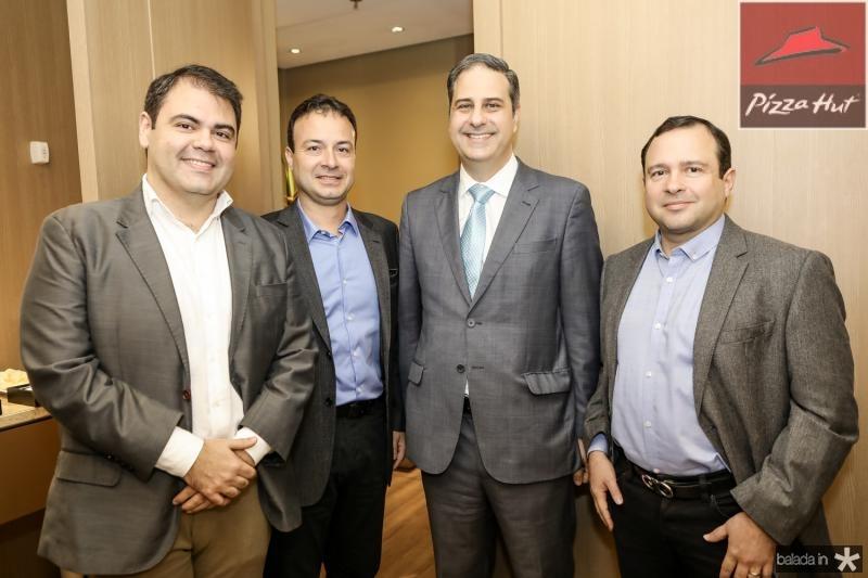 Marcos Aurelio Cabral, Danilo Serpa, Erinaldo Dantas e Igor Barroso