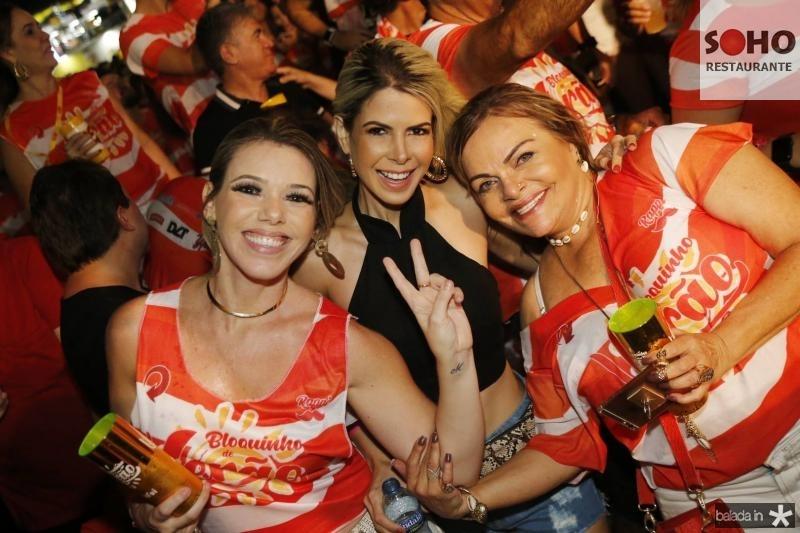 Andrea Karla, Salusa Rossas e Thea Moreira