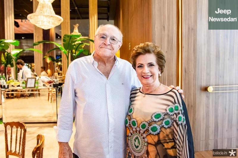 Luis Marques e Regina Aragao