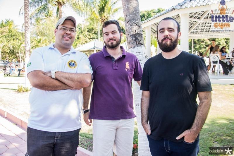 Wibi Carvalho, Gustavo Melo e Victor Carvalho