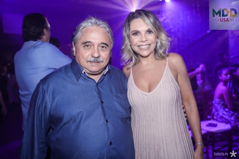 Armando Aguiar e Lilian Porto