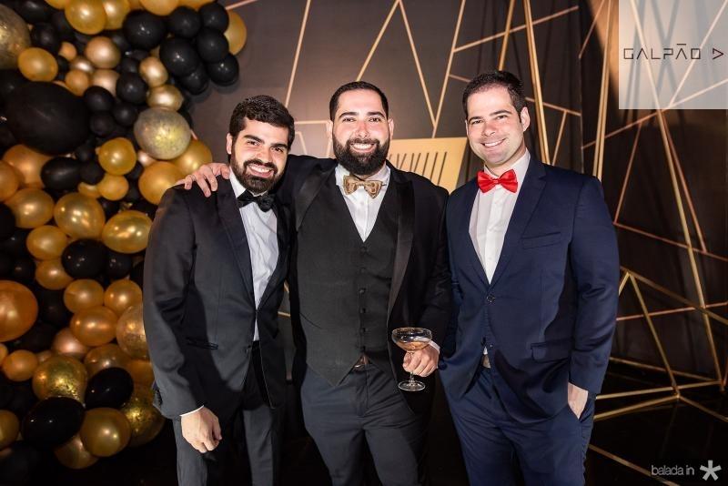 Pedro Garcia, Luiz Victor Torres e