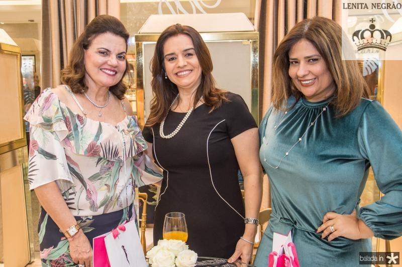 Luiziana Esteves, Lia Freire e Montiele Arruda