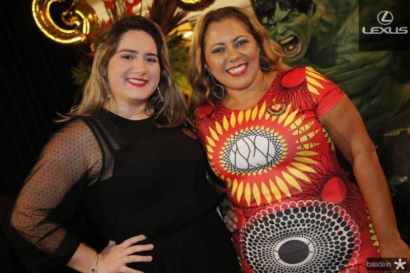 Carolina Lustosa e Virginia Bastos