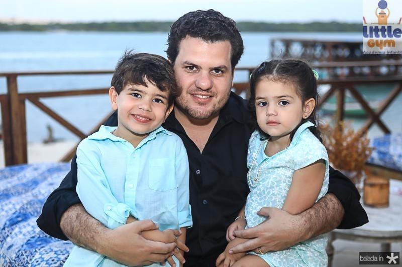 Humbertinho, Humberto e Maria Fontenele